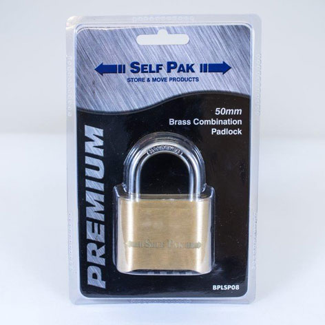 Combination Padlock From Dumfries Self Storage
