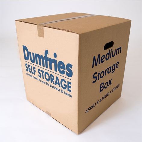 Medium Packing Box From Dumfries Self Storage