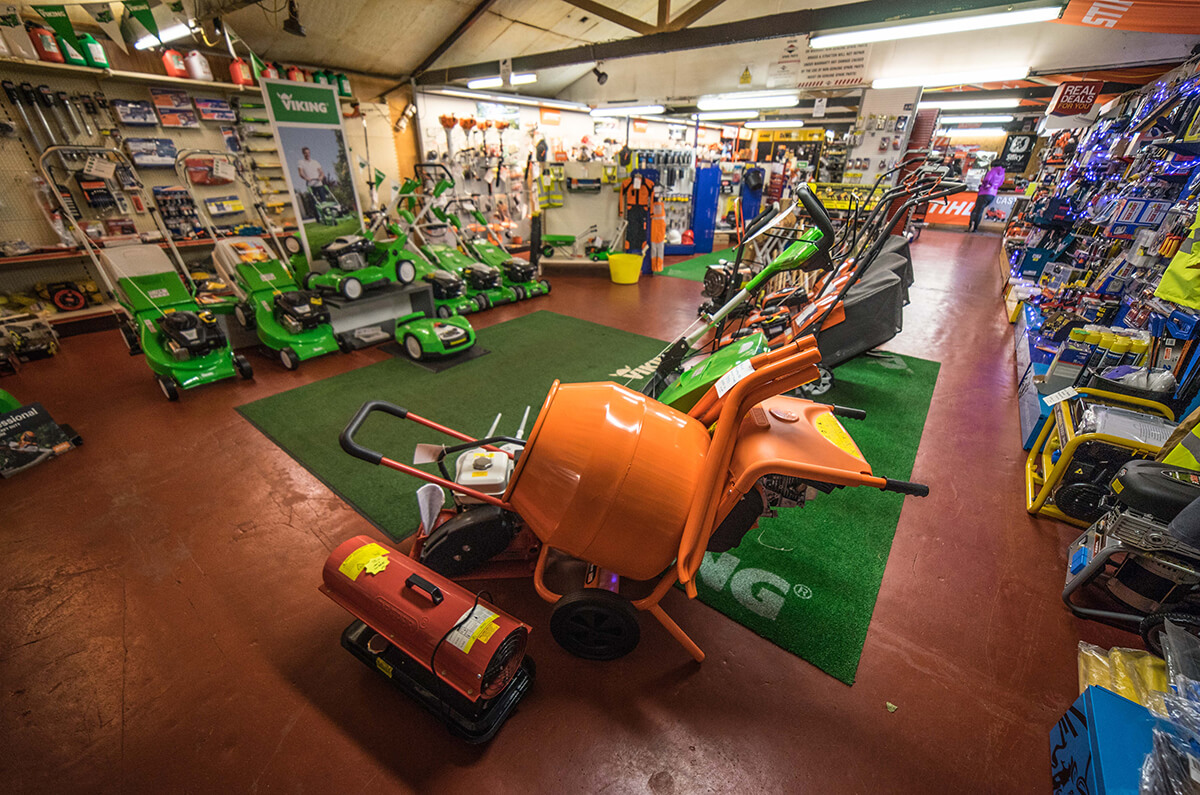 Galloway Hire Tools At Heathhall