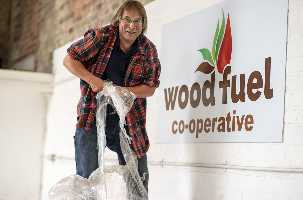 Wood Fuel Co-op At Heathhall