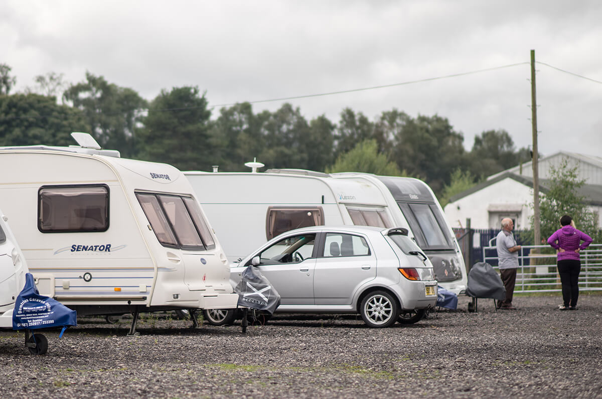 Caravan & Motorhome Storage in Dumfries