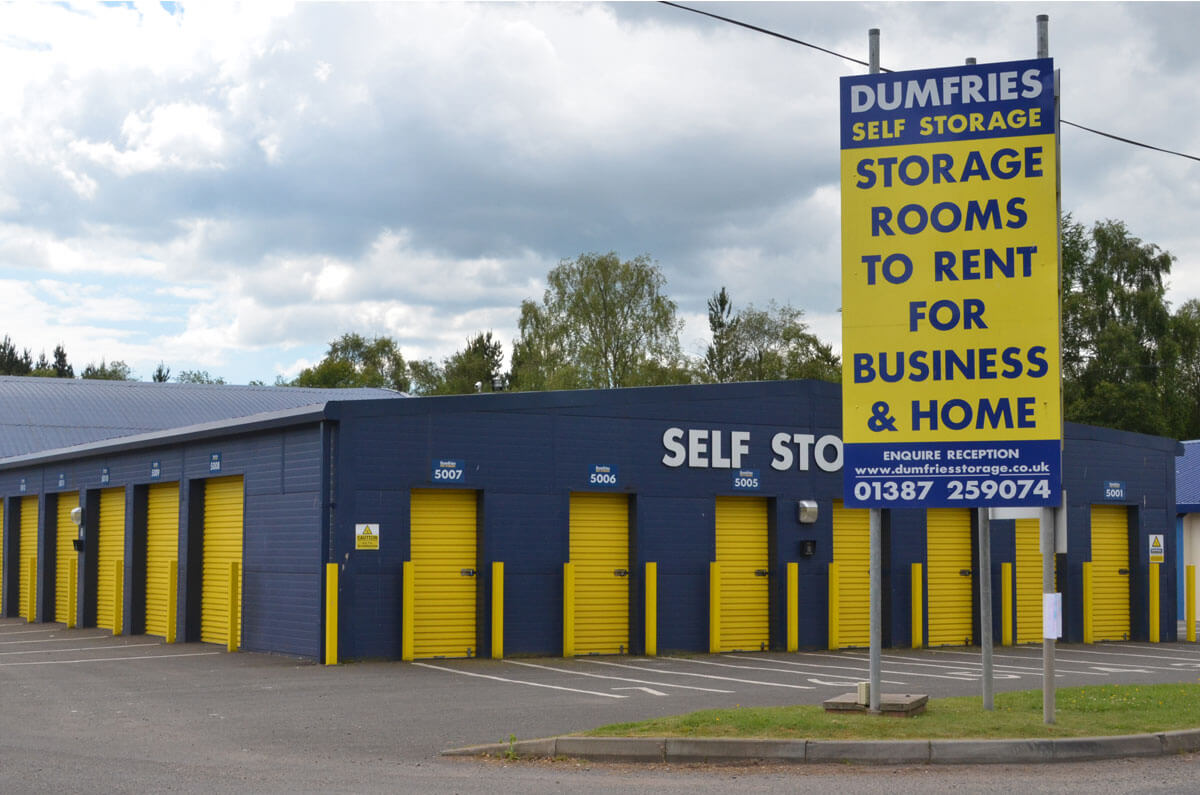 Modern Self Storage At Heathhall