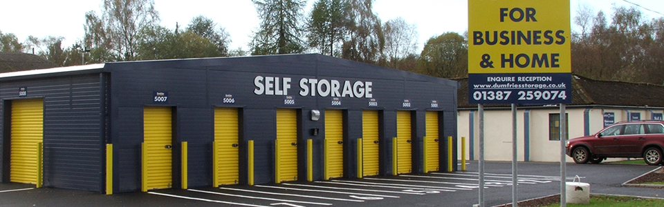 Personal Self Storage Dumfries