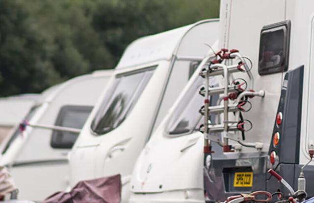 Caravans & Motorhome stored Dumfries